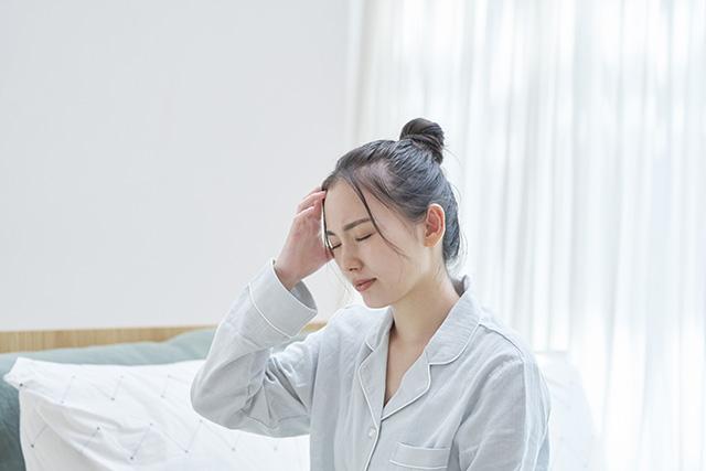 ストレスを感じる看護師
