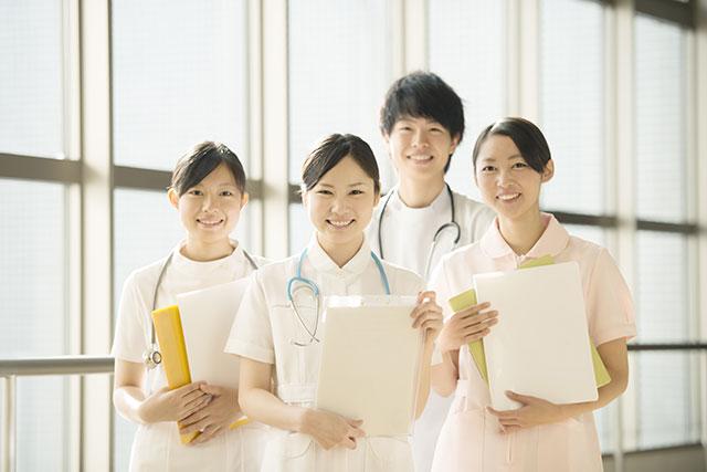 看護師の集合写真