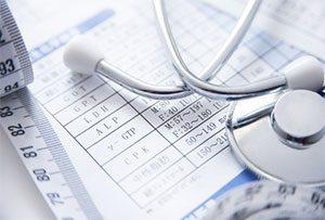 健康診断カード